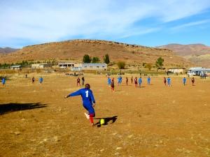 Sports Day!  Thoteng Secondary defeats Ramatseliso!